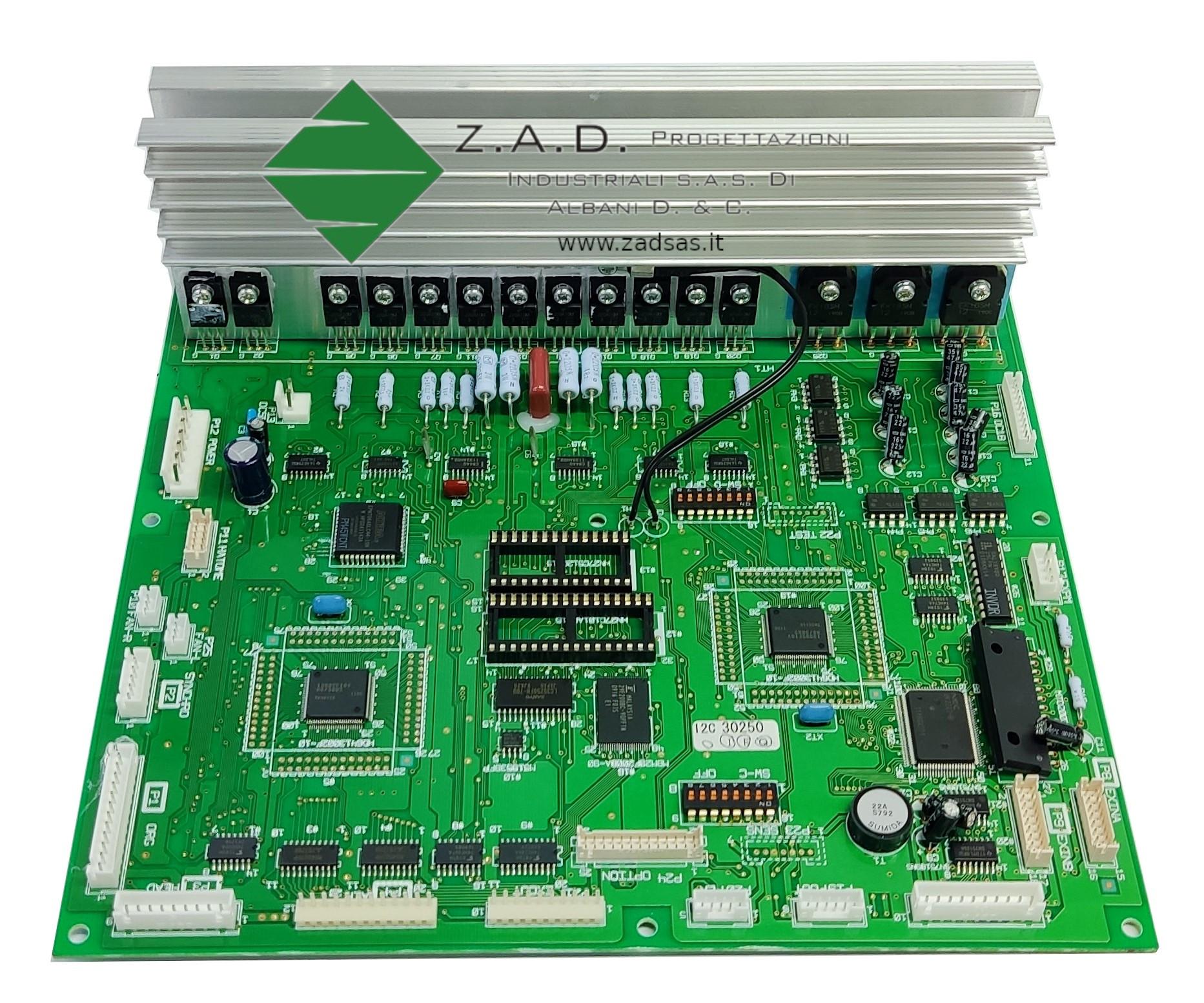 Refurbished genuine Brother main board serie E  (codice Brother: s43210)