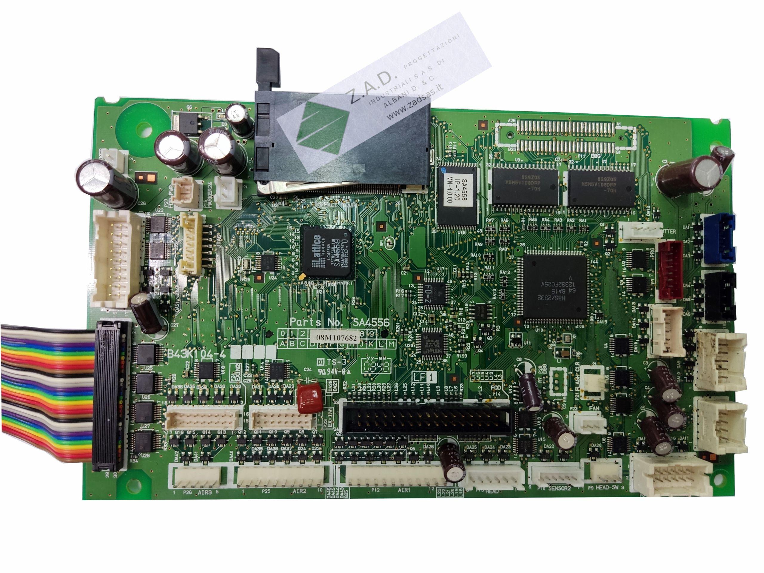 Brother G series compatible main board (Brother code:  SA4556001 )
