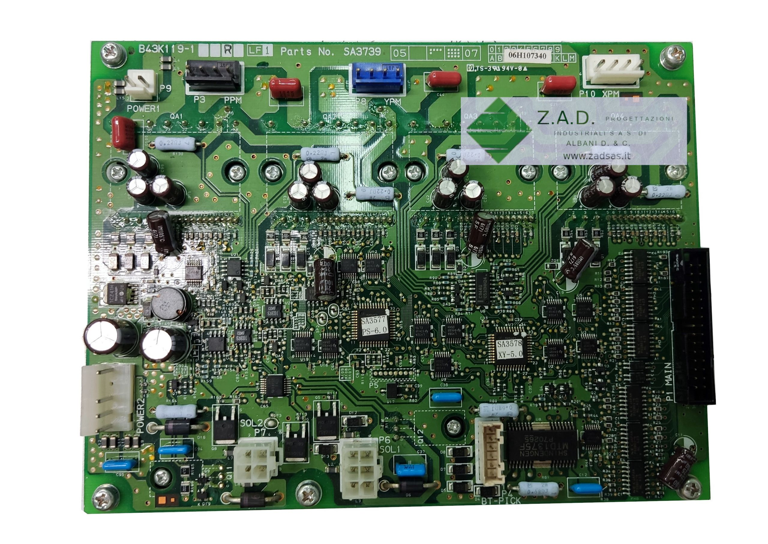 Brother G series compatible PMD  board (Brother code:  SA3739301)